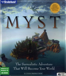 Myst Box Art